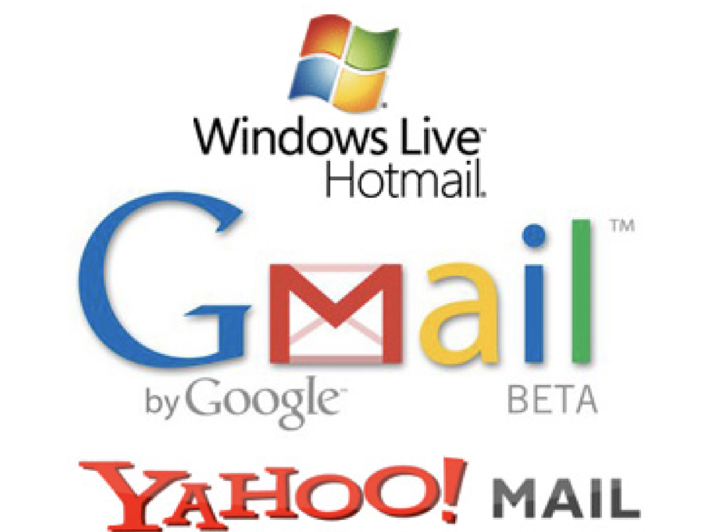 Email addresses of users of mail servers